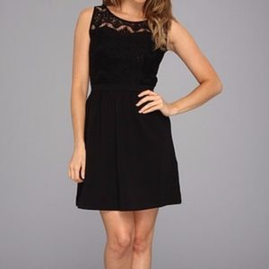 Lilly Pulitzer Dresses - Lilly Pulitzer Rhea Black Crochet Dress A140600